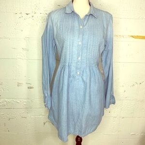 Light wash light denim Ralph Lauren dress